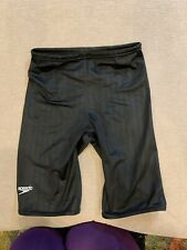 SPEEDO Aquablade Jammer Competition Suit Size 28 Worn Once