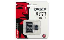 Kingston SDC4/8GB - Tarjeta microSD de 8 GB, color negro Velocidad mínima de 4 M