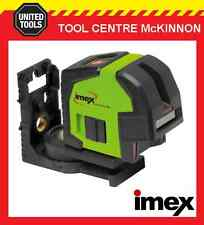 IMEX LX22 CROSSLINE LASER LEVEL WITH PLUMB SPOT – 2 YEAR WARRANTY