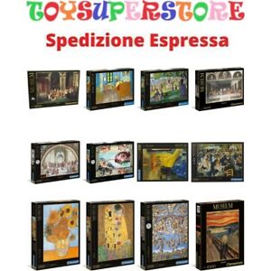 Puzzle 1000 Museum Collection  Made in Italy Clementoni Assortimento