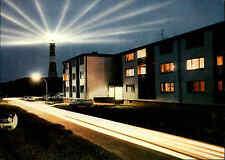 HÖRNUM Insel Sylt um 1970/80 Postkarte ungelaufen Strassen Partie am Leuchtturm
