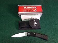 SCHRADE+ USA LIGHTWEIGHT LOCKBACK MINT SP3 WITH SHEATH