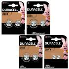 DURACELL CR2032, 2025, 2016, LR44 Battery Coin Cell Button 3v Lithium Batteries