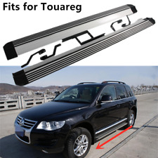 fits for VW Volkswagen TOUAREG 2002-2010 Running board side step Nerf bar 2PCS