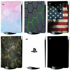 PS5 Skin Playstation 5 Vinyl Full Sticker Decal Set Controller Cover Stickers
