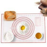 Silicone Baking Mats Sheet Pizza Dough Non-Stick Maker Holder Pastry Kitchen New