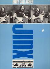 LP RORY GALLAGHERjinxGERMAN 1982 EX/EX-