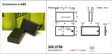 Contenitore per elettronica in abs nero Brexel 300.3750  90x56x23 mm lotto 5 pz
