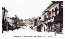 Photo. ca 1949. Nanaimo, BC Canada. Commercial St