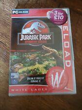 Jurassic Park: Operation Genesis - PC Game - Windows - SEALED.
