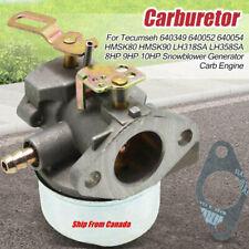 Carburetor Tecumseh 640349 640052 640054 8HP 9HP 10HP Snowblower Generator Carb