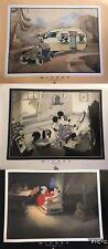 Démons & Merveilles Disney affiches x3 MICKEY & MINNIE MOUSE DINGO RARE