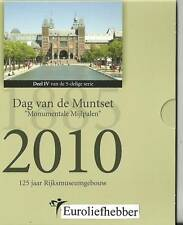NEDERLAND               DAG VAN DE MUNT    BU SET 2010             OPLAGE 2010