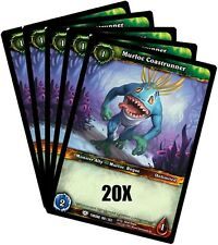 WORLD OF WARCRAFT WOW TCG : MURLOC COASTRUNNER COMMON X 20