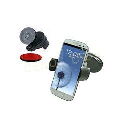MOBILE PHONE WINDSCREEN HOLDER CRADLE SAMSUNG GALAXY S3 i9300  DASHBORAD CAR