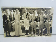 1930's Edward J. Kelty Circus Photographer Photo of Circus Clown and Performers