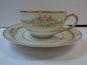 Haviland /& Co 32192 Haviland Flat Tea Cup and Saucer