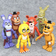 Five Nights at Freddy's FNAF 6 PCS Game Action Figures Doll Kids Toys Gifts US%