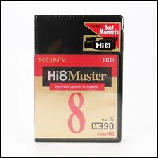Sony Hi8 ME 90 Master Cassette Tape 8mm 90 Minutes PAL E5-90HMEM - New & Sealed