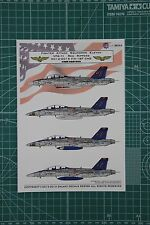 GALAXY Model G48001 1/48 U S Navy F/A-18F VFA-11 Red Rippers Decal