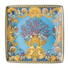 Versace Rosenthal Porcellana Coppetta quadrata piana 12 cm Les Tresors de la Mer