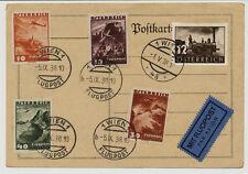 ÖSTERREICH 1938 FLUGPOST! BRIEF mit WIEN Stempel.