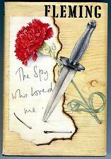 The Spy Who Loved Me - Ian Fleming 1st Edition 1962 Signed Bond Girl Naomi
