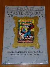 MARVEL MASTERWORKS #139 CAPTAIN AMERICA #125-136 STAN LEE HB GN 9780785142010