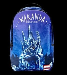 Marvel Black Panther Wakanda Forever Backpack by Sprayground 2019 limited NEW