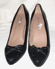 """New *ANN TAYLOR*  Beautiful, Black,Textured, Classic, 2.5"""" Pump Heel, 6.5 M"""