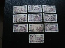 MAROC - timbre yvert et tellier n° 126 x10 obl (A29) stamp morocco (Y)