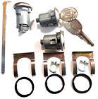 New OLDSMOBILE GM OEM Chrome Doors/Trunk Lock Key Cylinder Set With 2 LOGO Keys  for sale
