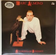 MARC ALMOND Stories Of Johnny RARE PROMO SAMPLE LP PROMO OZ