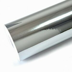 Vinilo cromo cromado espejo plata brillo car wrapping 50x152cm ENV. 24/48H.