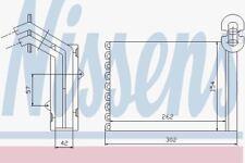 Nissens 73972 Heater Matrix VW SHARAN RHD    95-