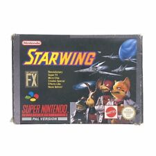 Starwing Boxed Super Nintendo Game USED