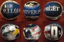 New York City 9-11 Never Forget Gloss Embossed Collectible Souvenir Baseball