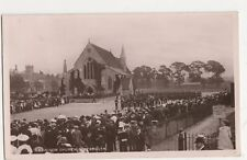 Garrison Church Portsmouth 1907 WH Smith Real Photo Postcard, B082