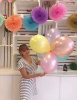 """Pastel Color Balloon Birthday Wedding Party Bride Baby Shower 11"""" Mint rose gold"""