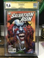 Salvation Run 7 Variant Cgc 9.6 Signed by Neal Adams