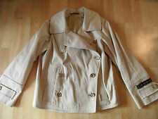 Gucci chicer kurztrench double veste beige taille 42 (36) w. Neuf bsu516