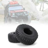 4Pcs 2.2Inch RC Car Rubber Tire Skin with Sponge Parts for 1/10 Crawler Kits