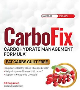 CarboFix Carbohydrate Management Formula 60 Capsules