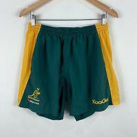 Kooga Wallabies Rugby Union Shorts Mens Size Medium 34 Elastic Waist