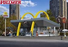 VOLLMER H0 43634 McDonald´s Ristorante fast food CON McDRIVE - NUOVO +