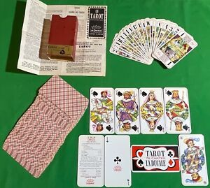 Old Vintage FRENCH Ducale ** TAROT ** Pack Playing Cards CARTOMANCY Divination