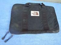 North Face Vintage Briefcase Carry Case Bag RARE Old School Black
