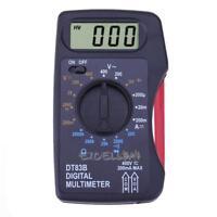 Multimètre Numérique Portable Mini Poche Ampèremètre Voltmètre Ohm Mètre