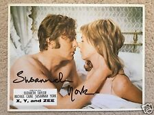 SUSANNAH YORK SIGNED ORIGINAL  X Y & ZEE LOBBY CARD - UACC & AFTAL RD AUTOGRAPH