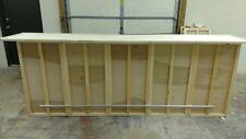 Home Bar Furniture, 120x24x42, 3 Shelves, Seats 5, S&H Incl